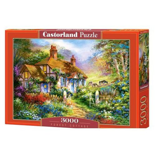 Puzzle 3000 Forest Cottage CASTOR (5904438300402)