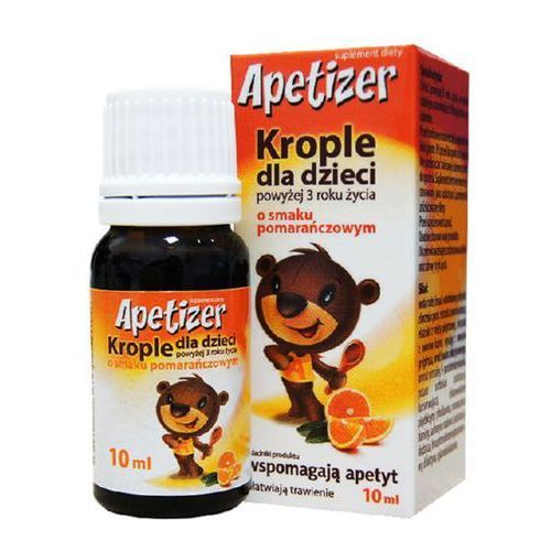 Apetizer Krople dla dzieci o sm.pomarańczowym krople - 10 ml