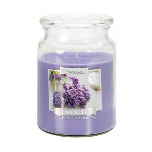 Bispol,snd99, świeca zapachowa słoik z wieczkiem, lawenda, 1 sztuka