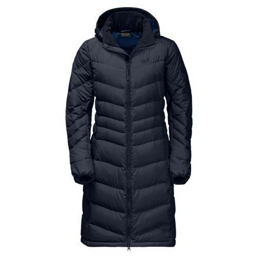 Jack wolfskin Płaszcz selenium coat women - midnight blue