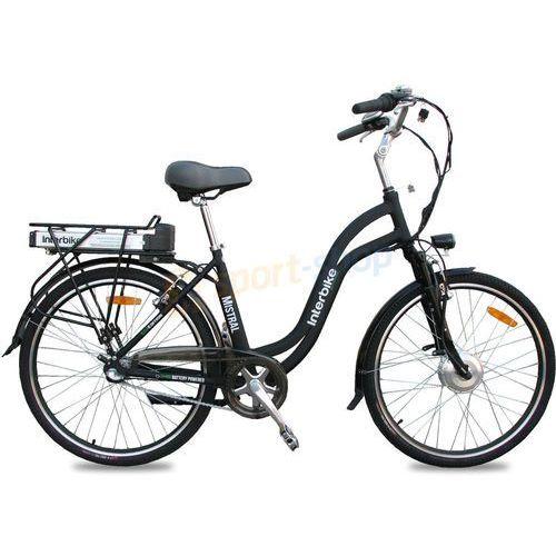 """Rower elektryczny Mistral 26"""" LX Interbike (czarny)"""