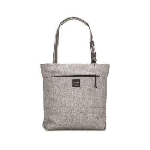 Damska torba antykradzieżowa Pacsafe Slingsafe LX200 Tweed Grey - Szary, kolor szary
