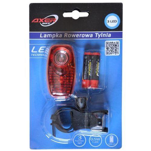Lampka rowerowa AXER BIKE tylna A2861 (5907763028614)