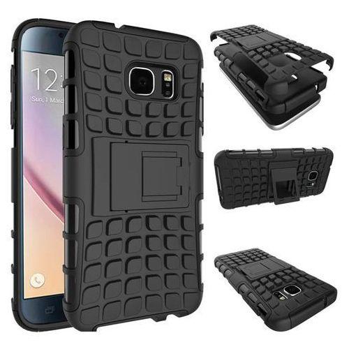 Perfect Armor Czarny   Pancerna obudowa etui dla Samsung Galaxy S7 Edge