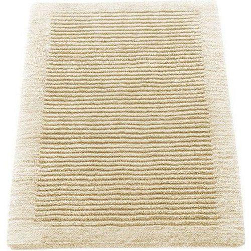 Dywanik łazienkowy Cawo ręcznie tkany 60 x 60 cm kremowy