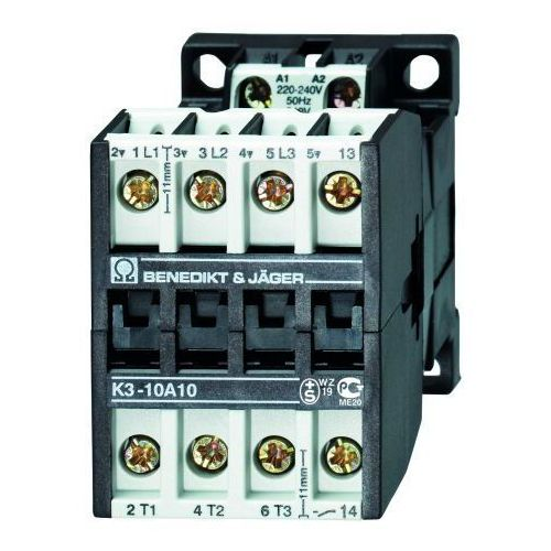 Benedict&jager 3-polowy / 4kw / 10a / 230v ac / 1z k3-10a10 230