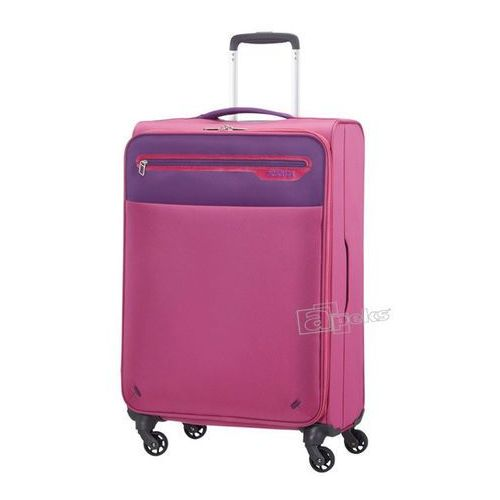 American Tourister Lightway średnia walizka 67 cm / różowa - Pink / Purple