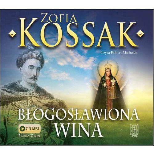 Błogosławiona wina (audiobook CD) - Zofia Kossak, Instytut Wydawniczy Pax