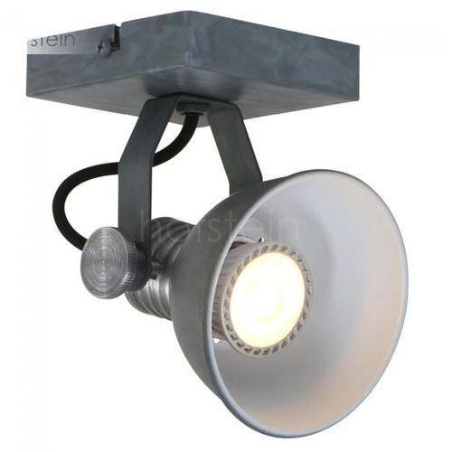 Steinhauer BROOKLY reflektor LED Siwy, 1-punktowy - - Obszar wewnętrzny - BROOKLY - Czas dostawy: od 3-6 dni roboczych (8712746121384)