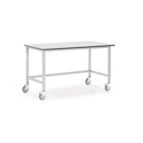 Mobilny stół roboczy MOTION, 1500x800 mm