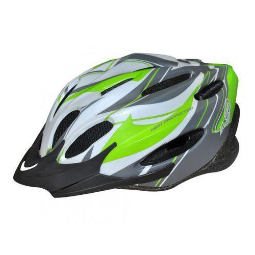 Axer bike Kask rowerowy voyager mat white (rozmiar l) (5901780901738)