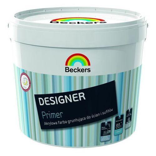 designer primer- biała farba gruntująca, 10 l marki Beckers