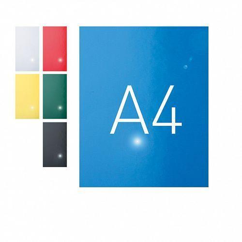 Okładki do bindowania a4 karton błyszczący niebieski o.exclusive 100szt. marki Opus
