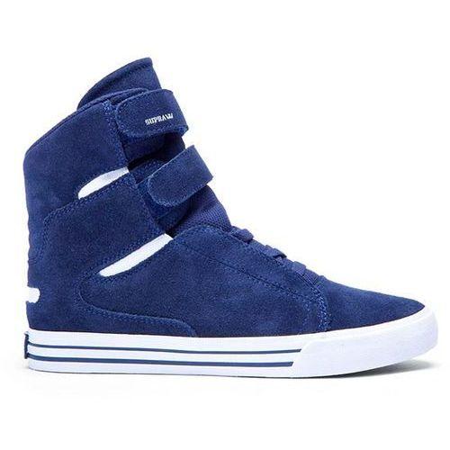buty SUPRA - Society Ii Blue Nights-White (BNT) rozmiar: 40.5, kolor niebieski