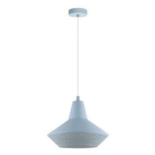 Eglo Lampa wisząca piondro-p 49073 zwis 1x60w e27 pastelowy jasny niebieski (9002759490737)