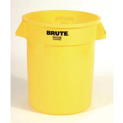 Pojemnik uniwersalny, poj. 76 l, żółty. kanały wentylacyjne ułatwiają wyjmowanie marki Rubbermaid