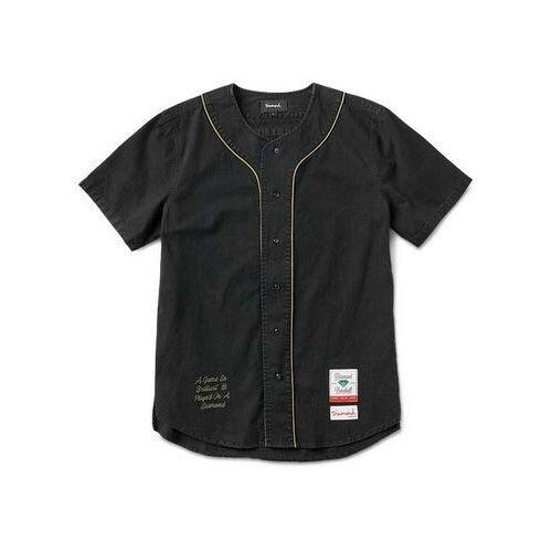 Diamond Koszula - cadet woven s/s jersey black (blk) rozmiar: m