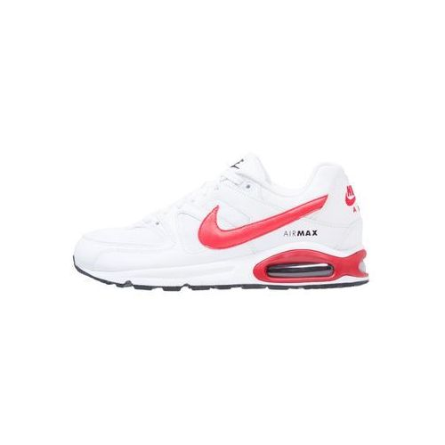 Nike Sportswear AIR MAX COMMAND Tenisówki i Trampki white/university red/black