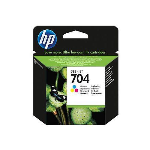 Oryginalny tusz HP 704 Trójkolorowy (CN693AE) do HP Deskjet Ink Advantage 2010 / 2060 - 5,5ml, kolor trójkolorowy