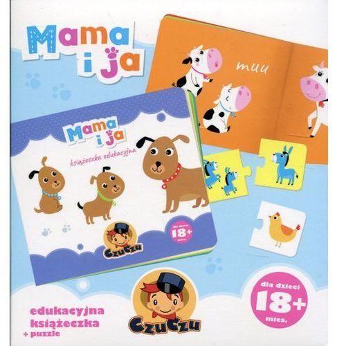 Bright junior media Mama i ja. edukacyjna książeczka + puzzle (9788365773036)