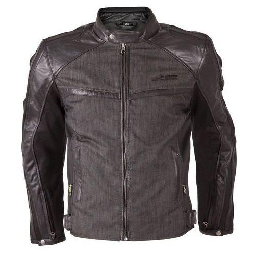 Męska kurtka motocyklowa flipside, matt.czarny, 4xl marki W-tec