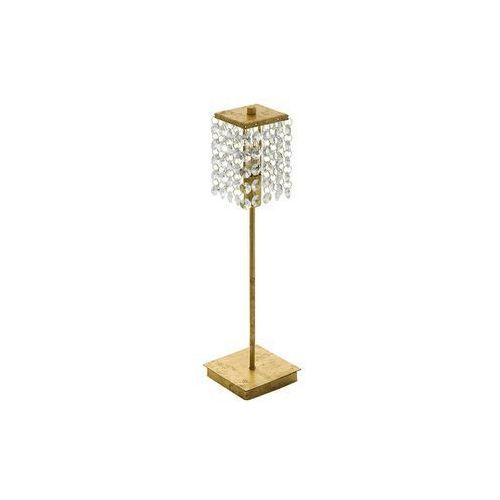 Lampa Eglo Pyton Gold 97725 stołowa nocna 1x3W G9 LED złota, 97725