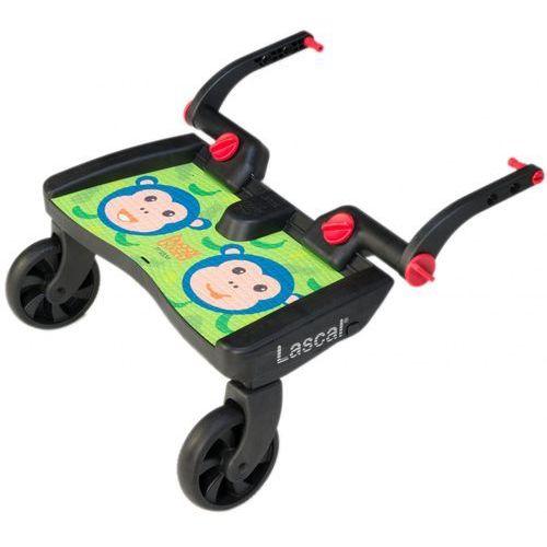 buggy board maxi- dostawka do wózka, zielone małpki marki Lascal