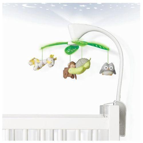 Skip hop  karuzela do łóżeczka z projektorem i pozytywką - safari