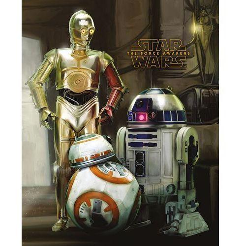Star wars gwiezdne wojny - roboty - plakat marki Gf