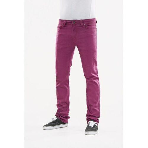 Reell Spodnie - skin plum purple (plum purpl) rozmiar: 32/30