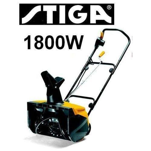 Stiga snow electric 45 pług śnieżny do śniegu odśnieżarka odśnieżarki elektryczna 1800w 2015 marki Stiga sweden