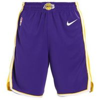 Nike Performance NBA LOS ANGELES LAKERS SHORT ROAD Krótkie spodenki sportowe field purple/amarillo/white, w 4 rozmiarach