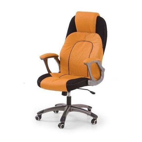 Asp fotel gamingowy dla graczy pomarańczowo-czarny marki Style furniture