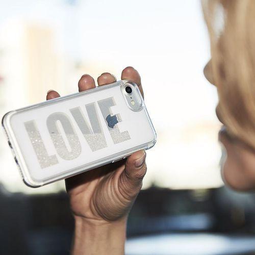 Puro Aqua Love - Etui iPhone 8 Plus / 7 Plus / 6s Plus / 6 Plus (White)