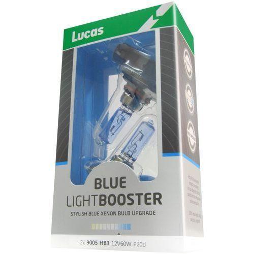 Lucas żarówki samochodowe lightbooster h7 12v 55w blue 2 sztuki