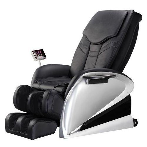 Insportline Fotel do masażu sallieri czarny - kolor czarny