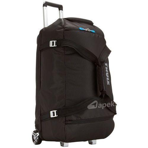 crossover rolling duffel 87l torba podróżna na kółkach / black - black marki Thule