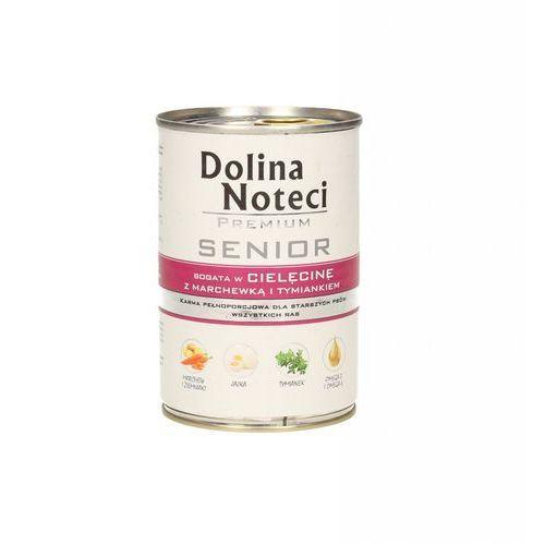 Dolina noteci premium senior cielęcina z marchewką i tymiankiem 400 g