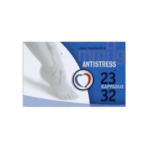 Antistress (włochy) Podkolanówki przeciwżylakowe medyczne unisex ii klasy kompresji, ucisk 23-32 mmhg; palce otwarte, linia terapeutica - antistress