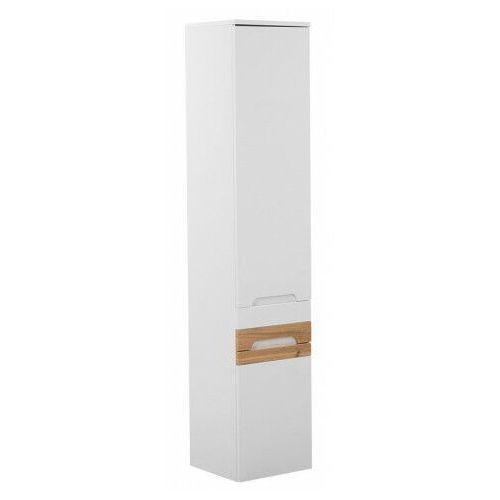 Wiszący słupek łazienkowy - Marbella 2X Biały połysk, GALAXY-WHITE-800
