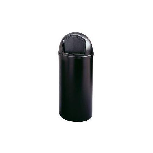 Pojemnik na odpady (PE), ogniotrwały,poj. 57 l, wys. x Ø 930 x 390 mm