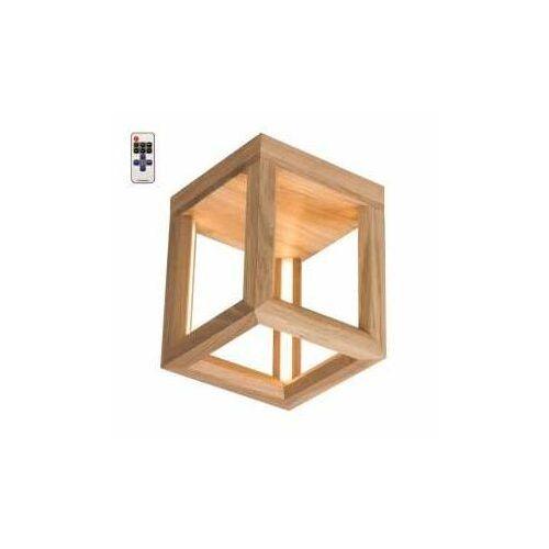 Spot light kago led 91503174 kinkiet lampa ścienna 1x9w led drewno (5905840202445)