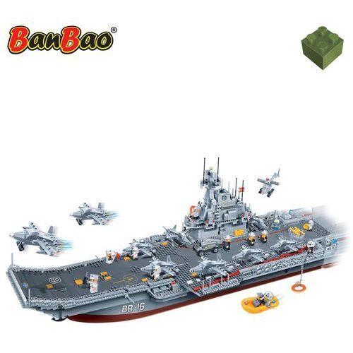 BanBao, Armia, Lotniskowiec duży, 8419, klocki, 3016 elementów Darmowa wysyłka i zwroty