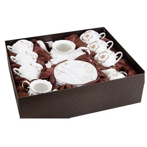 Serwis kawowy herbaciany z kostnej porcelany marki Fusaichi pegasus