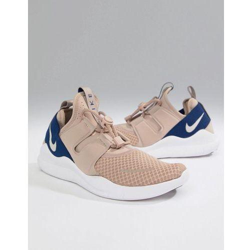 free run commuter 2018 trainers in beige aa1620-200 - beige, Nike running