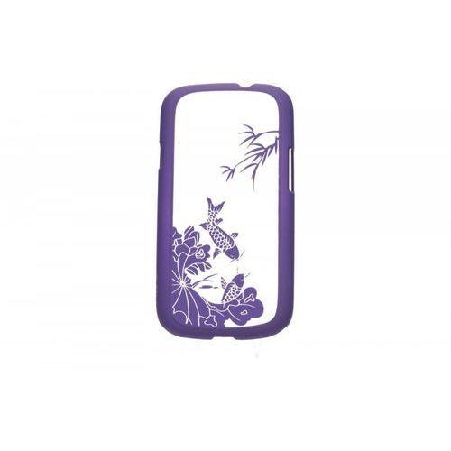 TB Etui Samsung S3 Ryba Koi fiolet - produkt z kategorii- Futerały i pokrowce do telefonów