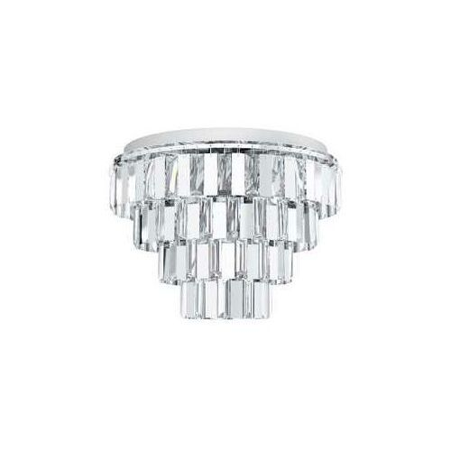 Eglo erseka 99093 plafon lampa sufitowa 7x40w e14 chrom/transparentny (9002759990930)
