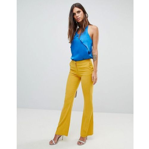 Y.a.s boot flare trouser - yellow