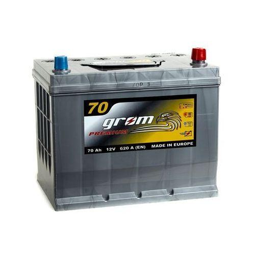 Akumulator GROM Premium 70Ah 620A Japana Prawy plus