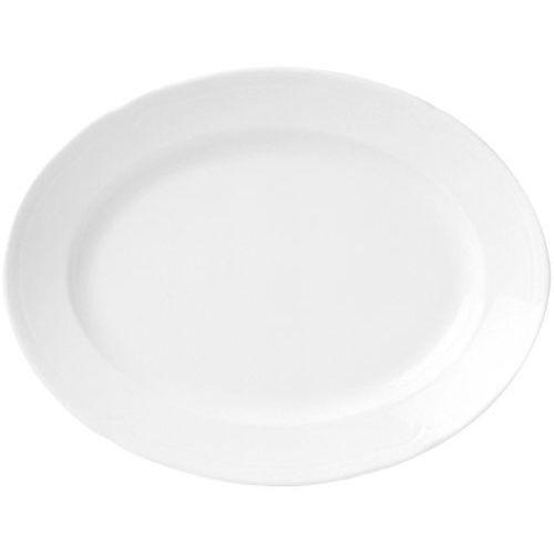 Półmisek porcelanowy 24x18 cm classic marki Fine dine